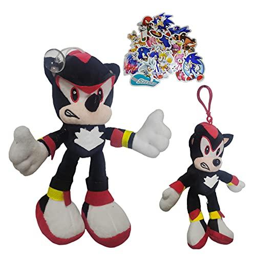 Juguetes de peluche Sonic boy Sonic longitud del teléfono móvil cordón colgante cuello correa de muñeca llavero estudiante anti-perdida circundante