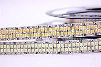 プレミアム LEDストリップライト、LEDストリップライトベッドルームのためのリモート2835 240LEDs / mのLEDストリップライト付き プロフェッショナル&アップグレード済み (Color : White, Size : 4 m 240LEDs)