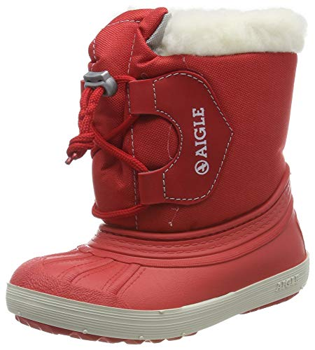 Aigle Nervei Junior, Stivali da Neve Unisex-Bambini, Rosso (Rouge 001), 23 EU