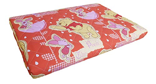 Disney - Colcha con diseño de Winnie the Pooh Caleffi Cama individual, 1 plaza.