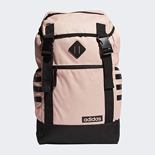 adidas Midvale Backpack Mochila, Unisex, Rosa Brillante/Negro, Talla única