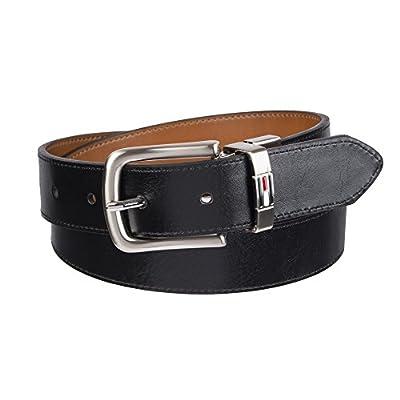 Tommy Hilfiger Boy's Reversible Dress Belt, Tan, Medium (26-28)