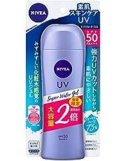 ニベア UV 【大容量】 スーパー ウォーター ジェル 160g (通常品の2倍) 日焼け止め SPF50 / PA+++ 「 化粧水 感覚のUVジェル 」 160グラム (x 1)