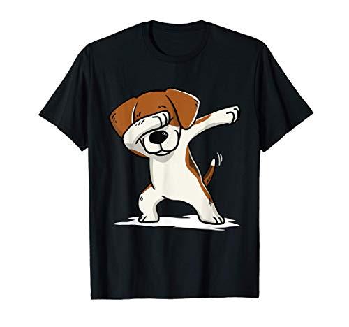 Dabbing Beagle Dab Dance Perro Camiseta