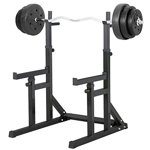 Beyondfashion–Accesorio de musculación con Barras y multiposición Spotter, Carga máxima: 250kg