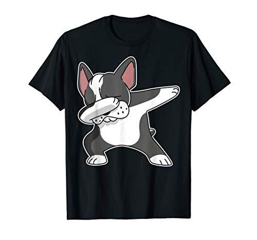 French Bulldog Dabbing Shirt Frenchie Dog Dab Dance Shirt T-Shirt