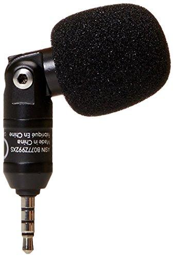 AmazonBasics - Micrófono de condensador para teléfonos inteligentes