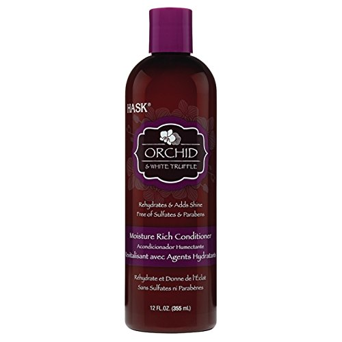 Hask Orchid & White Truffle Moisture Rich Conditioner, 12 Ounce