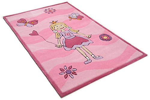 Kinderteppich Maui (rosa) - 2