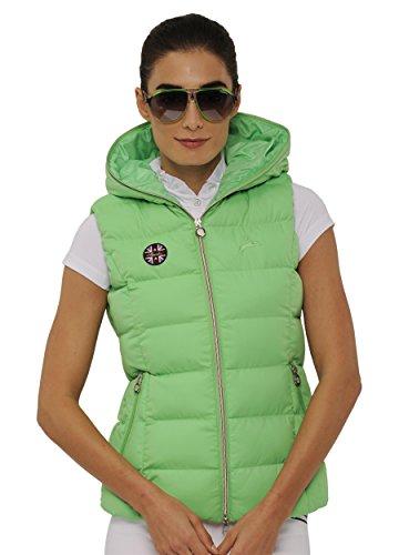 SPOOKS Damen Weste leichte Damenweste Steppweste - Justin Vest Light Green S