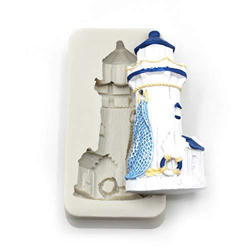1 Stück Leuchtturm Silikonform,Form, Kuchen Dekorationswerkzeug, Kuchenform, Küchenzubehör