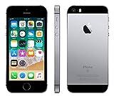 Apple iPhone SE, 32GB, Gray - Fully Unlocked (Renewed)