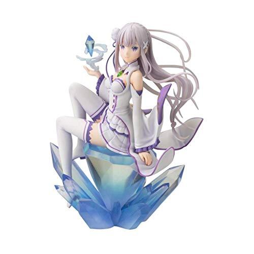 Re: Zero -Starting Life en Otro Mundo: Emilia (Repro) Figura de PVC de la Estatua de ANI - 6.6 Pulgadas (versión no Original)