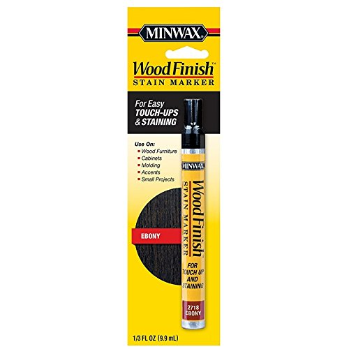 Minwax 634900000 Wood Finish Stain Marker, Ebony