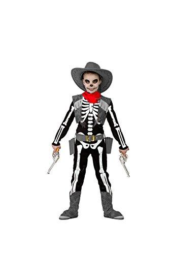 Disfraz Esqueleto Cowboy 10-12