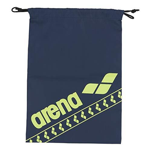 arena(アリーナ) 水泳 スイミングバッグ マルチバッグ(M) AEAPJA05 NVY(ネイビー×イエロー) F