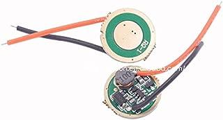 Isali Flashlight led Driver 17mm Cree XM-L/XM-L2/XP-L 1 Mode 3v-12v 1400mA Circuit Board for DIY Flashlight Torch Accessory Parts