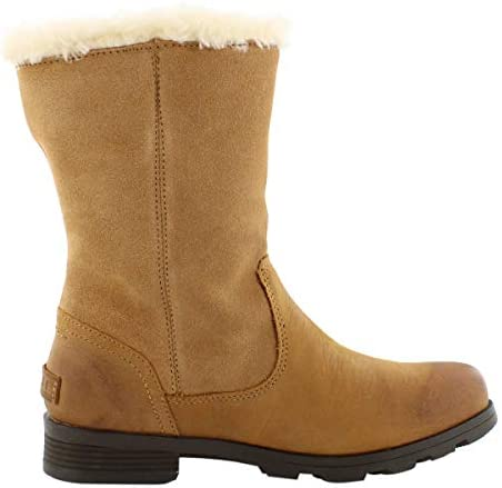 Sorel Emelie Foldover Quarry Waterproof Leather Boot NEW Choose Size