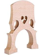 RiToEasysports Puente de violonchelo de madera de arce 1/8 piezas de repuesto para instrumento