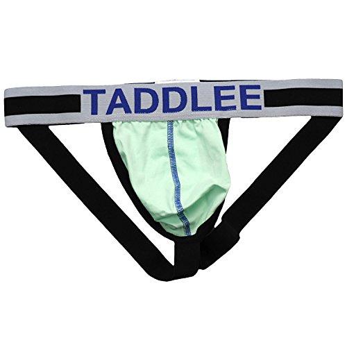 Taddlee - Tanga - para hombre Verde verde Medium (Varios)