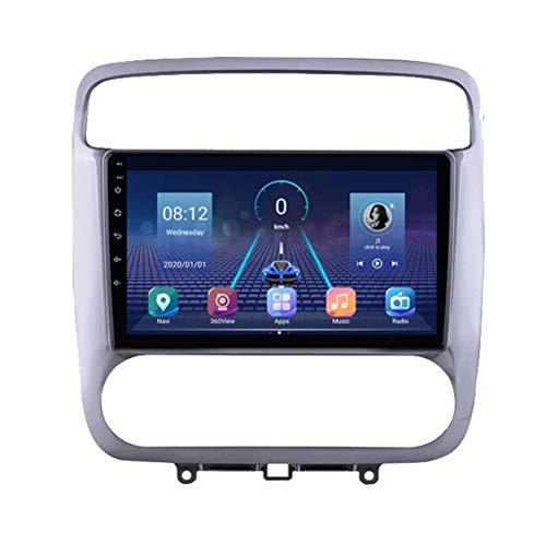 YIJIAREN Radio GPS Navegación para Honda Stream 2001-2004, Pantalla táctil 2.5D Android 10.0 Coche Estéreo Sat Nav Soporte de Control del Volante BT Mirror-Link 4G WiFi