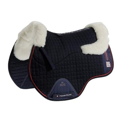 Premier Equine Schabracke Sports Wool European GP/Jump Square Größe Full, Farbe Navy