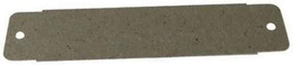 PLAQUE MICA GUIDE ONDES 139 X 33 MM POUR MICRO ONDES WHIRLPOOL - 482000019294