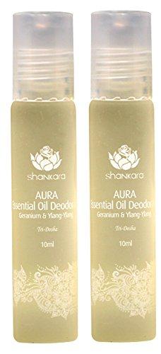 Shankara Aura Essential Oil Deodorant -...