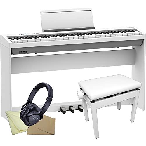 ローランド FP-30X ホワイト「木製スタンド/3本ペダル/ピアノ椅子」付