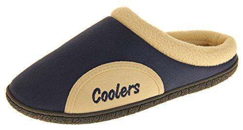 Coolers Hommes Chaussures Et Sacs Pantoufles Mules EU 41-42 Bleu Marine