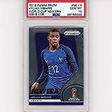 Graded 2018 Panini Prizm Kylian Mbappe #NE-9 World Cup New Era Rookie RC Soccer Card PSA 10 Gem Mint. rookie card picture