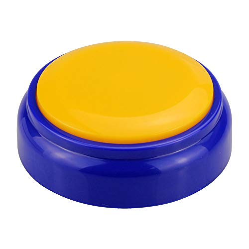 Sound Button-Voice Recording Button-Recordable Button Dogs Answer Buzzers for Funny Novelty Office Desk Gag Gift Custom That was Easy Button