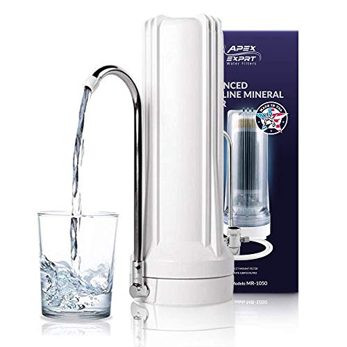 APEX Countertop Drinking Water Filter - 5 Stage Mineral Cartridge -...
