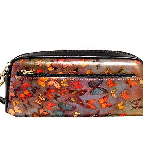 Capacité Portable Trousse,Papillon Vintage