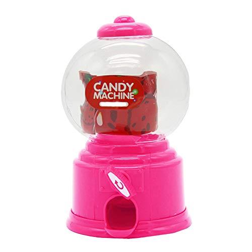 CULER Envío Lindo Burbuja Dulce de Caramelo Mini máquina de Gumball dispensador de Monedas del Banco niños Juguetes para niños Regalo Color al Azar
