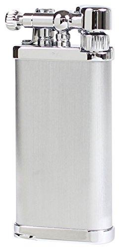 im corona(イムコロナ) ガスライター パイプライター オールドボーイ 日本製 ヘアライン クローム 64-3115