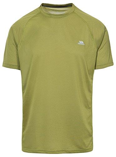 Trespass Esker T-shirts Homme Vert FR : XXS (Taille Fabricant : XXS)