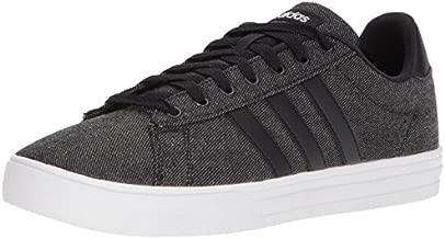 adidas Men's Daily 2.0 Sneaker, Black/Black/White, 10 M US