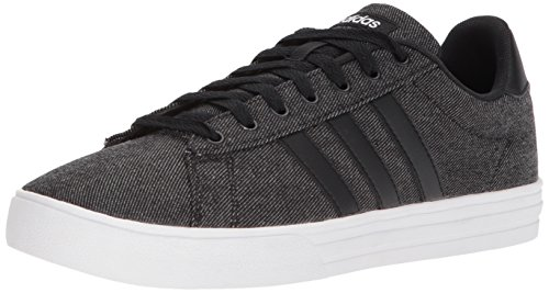 adidas Men's Daily 2.0 Sneaker, black/black/white, 11 M US