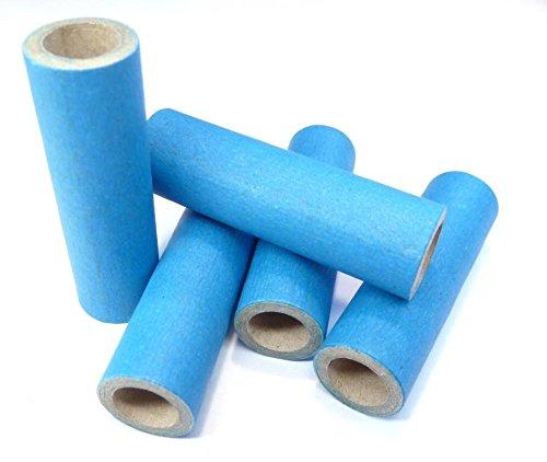 10x15x50mm Papphülse, Blau, parallel gewickelt, extrem fest, pyro paper tubes, Papierhülse, cardboard tubes, verschiedene Stückzahlen verfügbar (25)
