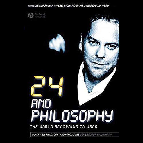 24 and Philosophy audiobook cover art