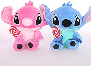 Best Quality - Stuffed & Plush Animals - 2pcs 18cm Lovely Cute Lilo and Stitch Plush Toys Doll Best Gift for Children Hot sale Plush Animals Dolls for Christmas gifts - by Pasona - 1 PCs