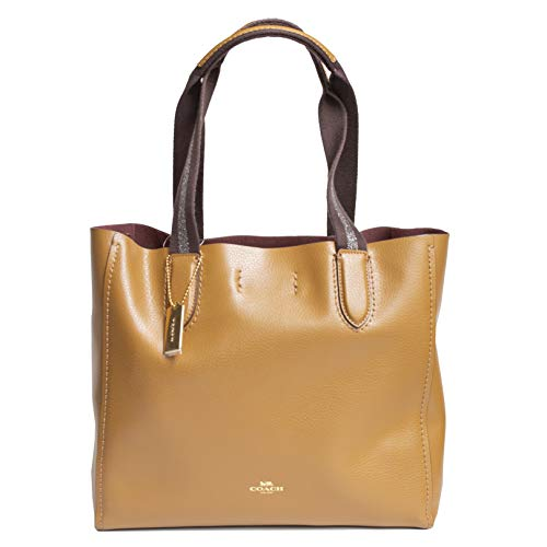 Coach Derby Tote Leather Handbag 58660