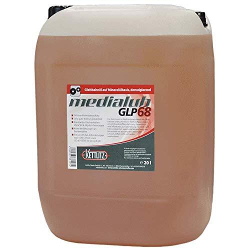 20 Liter KETTLITZ-Medialub GLP68 - Gleitbahnöl, Bettbahnöl ISO-VG 68