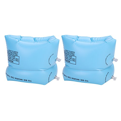ITODA Schwimmflügel Schwimmtraining Armschwimmer Aufblasbare Schwimmhilfe für Kinder Erwachsene PVC Wasserflügel Schwimmarmband für Mädchen Jungen Schwimmen Armbands Schwimmreifen für Anfänger