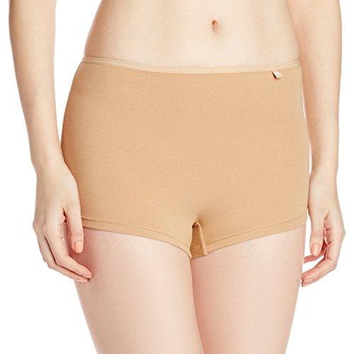 Jockey Women's Boy Leg Short (SS04_Skin_Medium)
