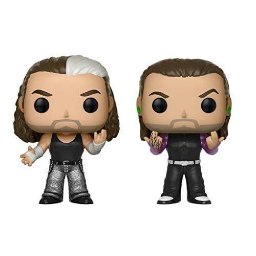 Funko - Figurine - WWE - Bi-Pack The Hardy Boyz Pop 10cm ...