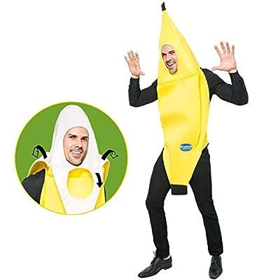 Spooktacular Creations Banana Costume Adult (Standard) Yellow by Joyin Inc