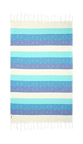 Begonville Blue Waves Türkisches Handtuch