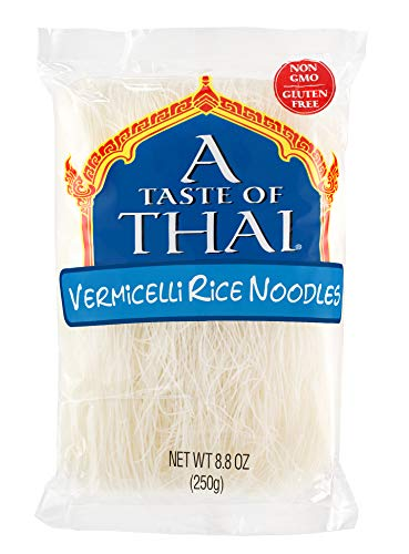 A Taste of Thai Vermicelli Rice Noodles, 8.8-Ounce Boxes (Pack of 6)